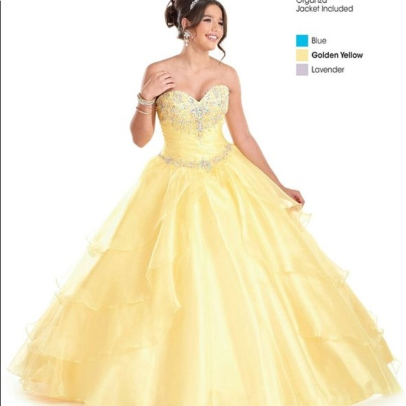 Bonny Bridal Dresses Beauty And The Beast Belle Quince Dress 6